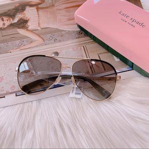 Kate Spade Amarissa Aviator Sunglasses 59mm